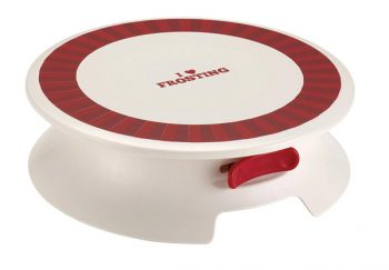 Cake Boss Decorating Tools Plastic Cake Decorating Turntable Review