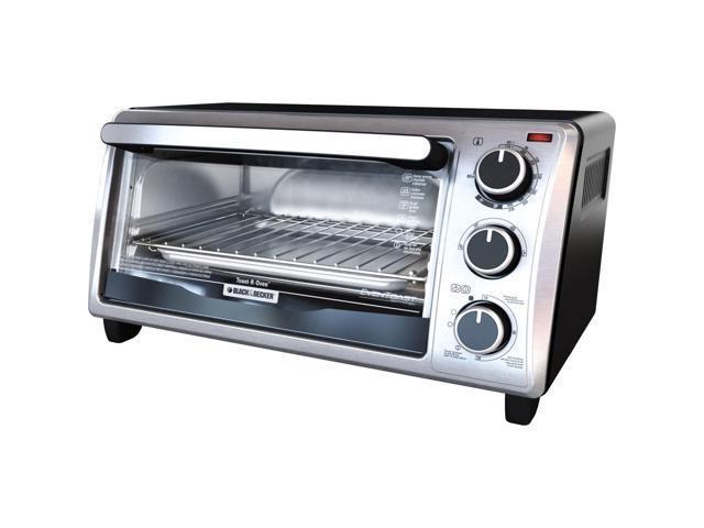 blackdecker 4 slice toaster oven