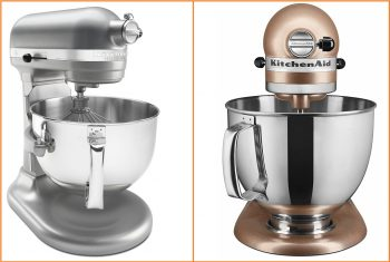 A Look at the Kitchenaid Professional vs the Kitchenaid Artisan