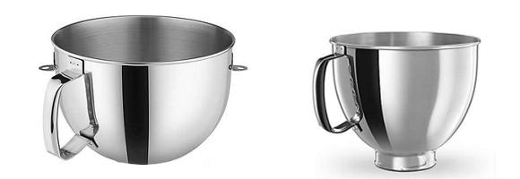 Kitchenaid Professional and Kitchenaid Artisan Bowl Capacity